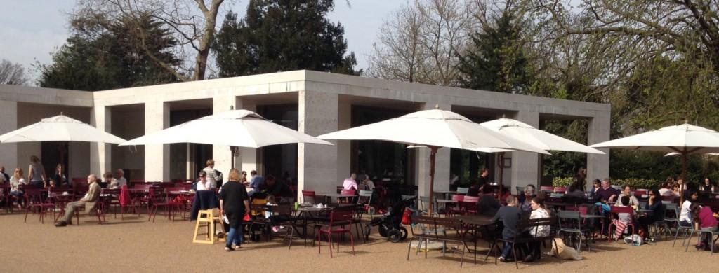 The café area