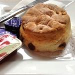 Pat's plain scone