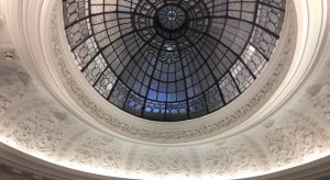 Dome above the stairwell