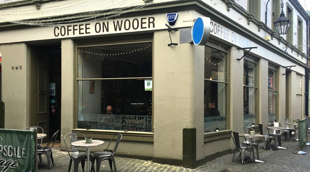 Exterior of Coffee on Wooer cafe