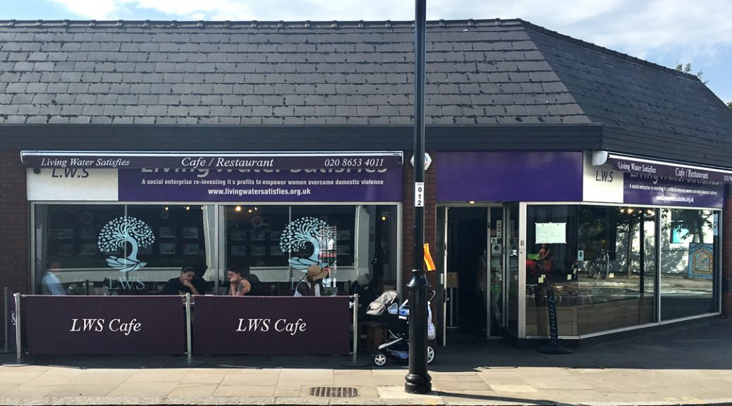Photo of exterior of LWS cafe in Crystal Palace