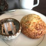 Picture of a scone at LWS cafe