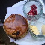 picture of a Roasted Bean café scone