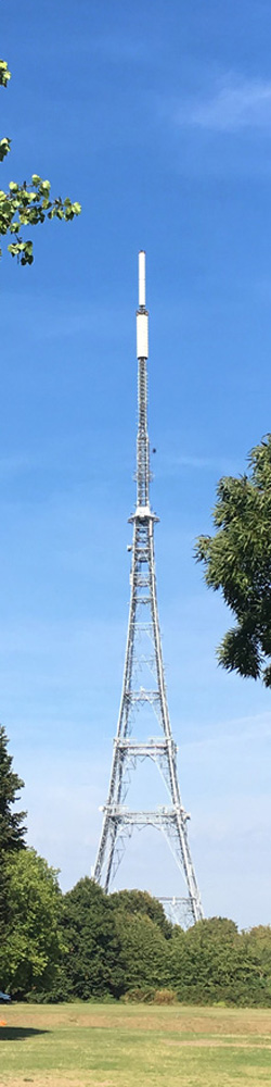 Picture of the Crystal Palace TV transmitter