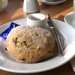 Picture of a fruit scone at the Blair Drummond Smiddy