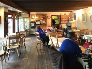Internal view of Alder's Traditional Tearoom