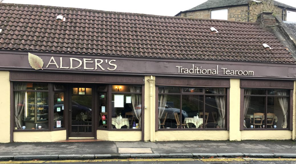 External view of Alder's Traditional Tearoom