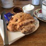 Scones at the Woodhouse Café, Kippen