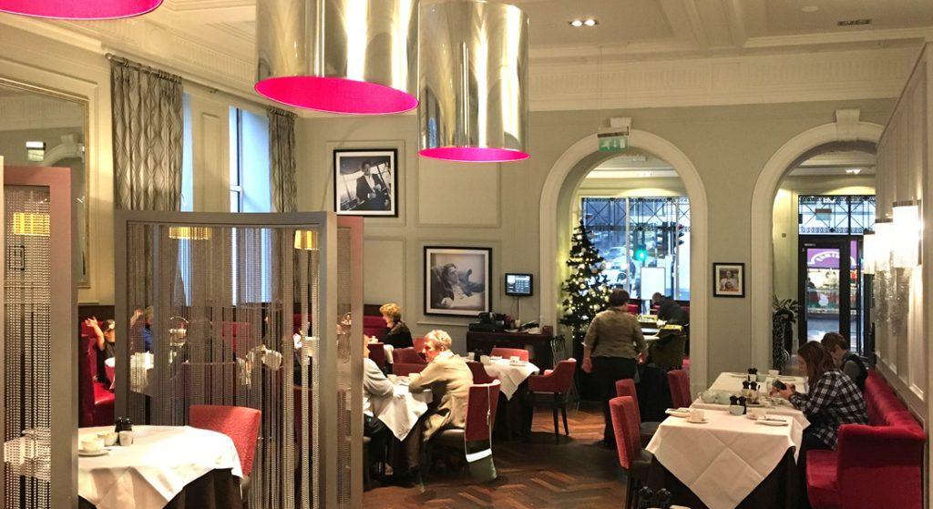 Interior view of Marco Pierre White Steakhouse, Glasgow