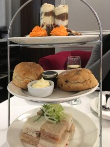 Afternoon tea at Marco Pierre White Steakhouse, Glasgow