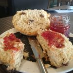 Picture of a teddy bear scone from St Andrews