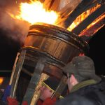 Burning the Clavie, Burghead