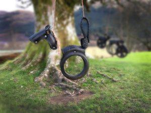 swings at Monachyle Mhor