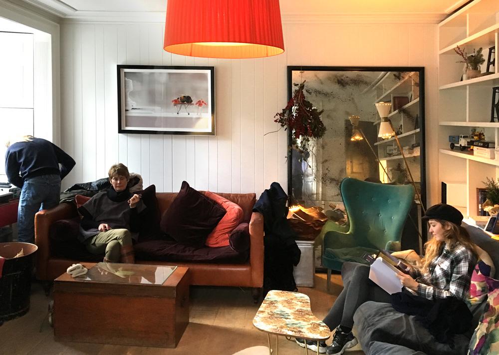 Lounge at Monachyle Mhor