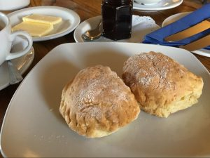 A scone at the Royal Hotel, Comrie
