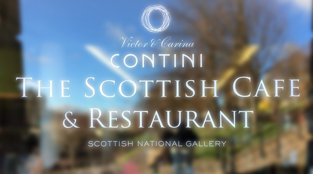 Entrance to the Scottish Café & Restaurant at the National Gallery,