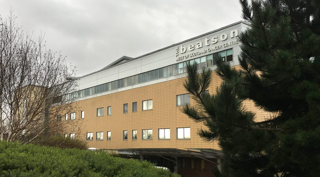 External view of the Beatson West of Scotland Cancer Centre