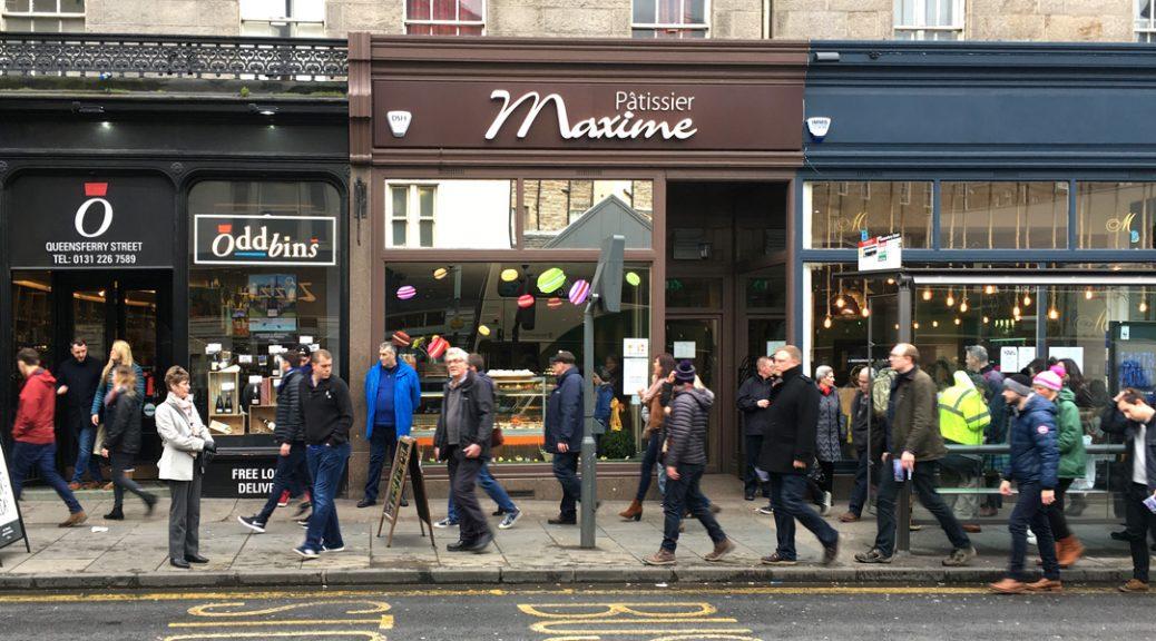 External view of Pâtissier Maxime in Edinburgh