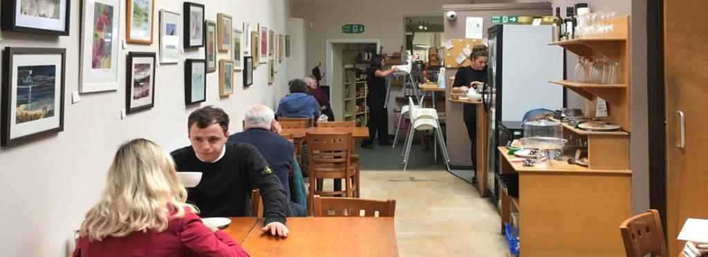 Interior view of Taste Café, Linlithgow