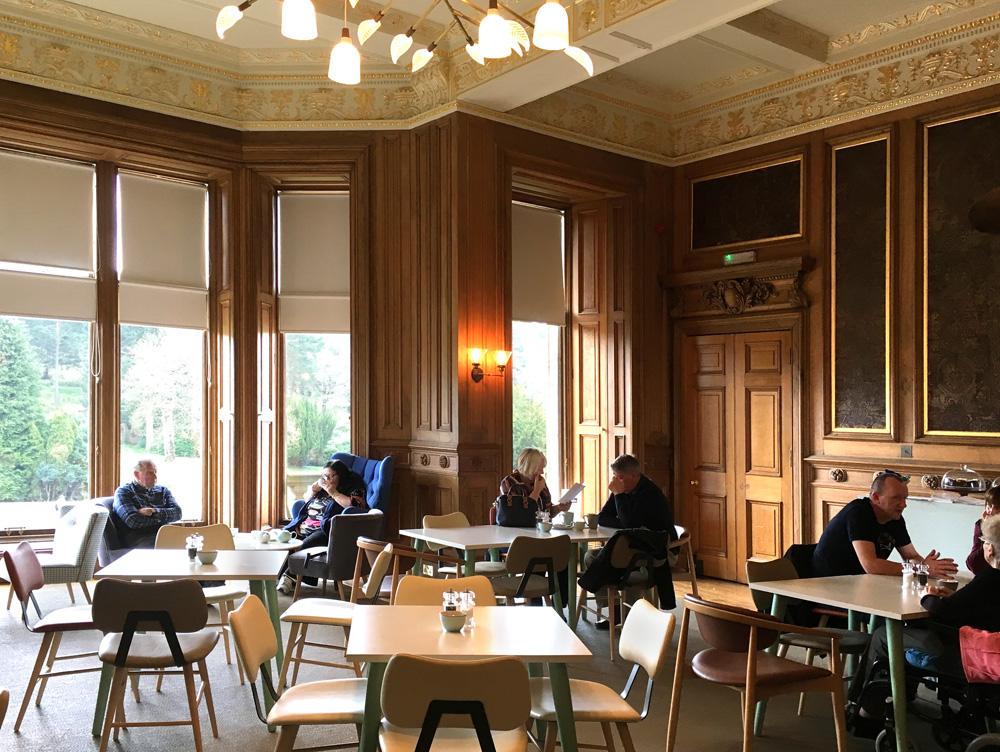 Internal view of Callendar House tearoom, Falkirk