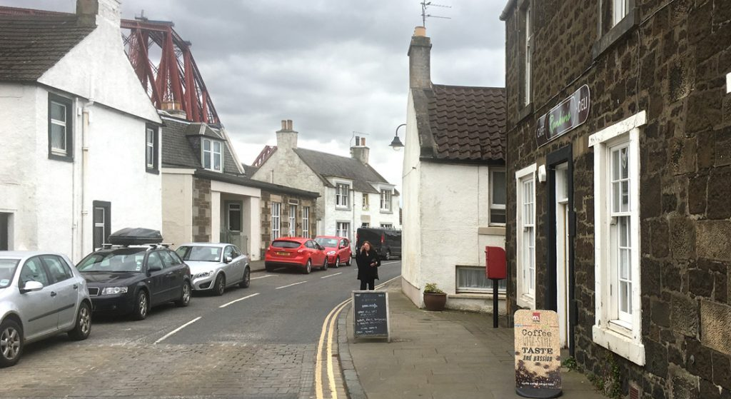 Exterior view of Rankine's Café, North Queensferry