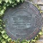 Millennium Resolution plaque at North Queensferry