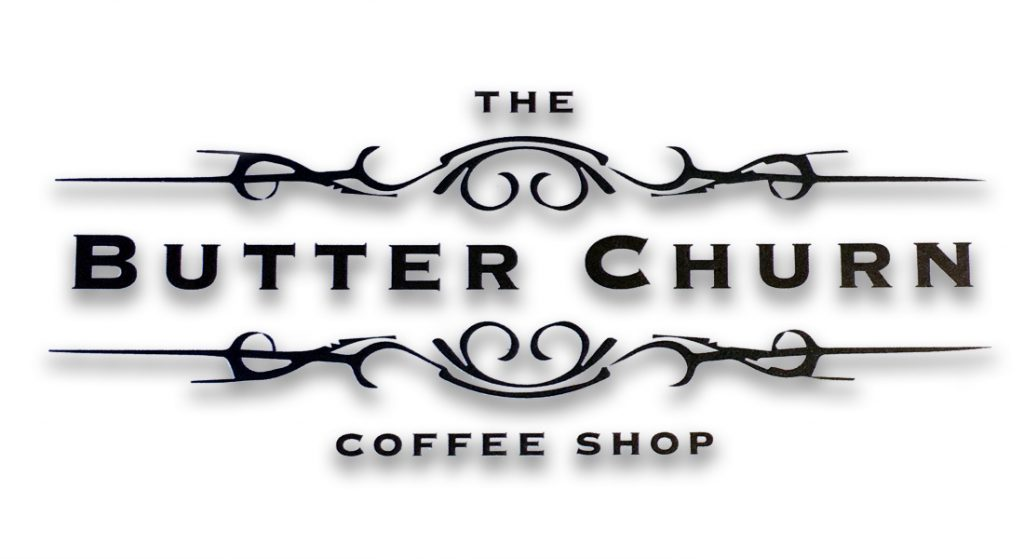 Graphic for the Butter Churn Coffee Shop, Kirkintilloch
