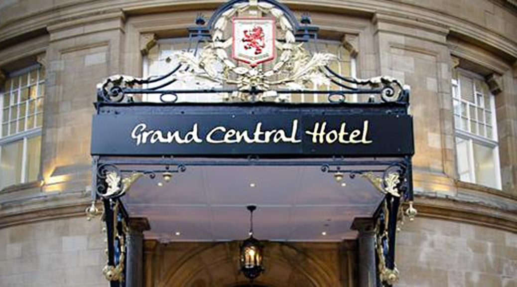 External view of Grand Central Hotel, Glasgow