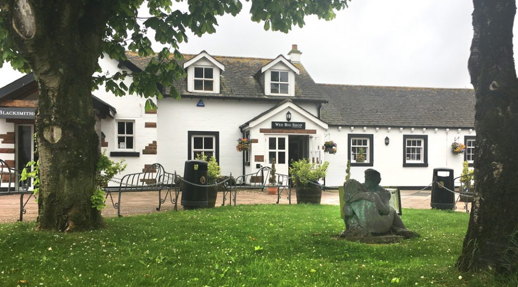 Exterior view of the Wee Big Shop in Gretna Green