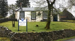 Exterior view of the miners library at Wanlockhead