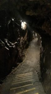 Inside the Lochnell Mine at Wanlockhead