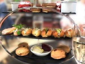 Afternoon tea at Browns of Edinburgh