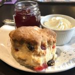 A scone at Inchture Hotel