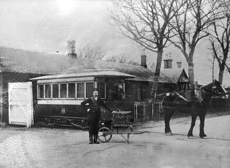 The railway bus, Inchture