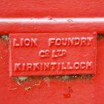 Lion Foundry, Kirkintilloch, K6 telephone box in Basseterre, St Kitts