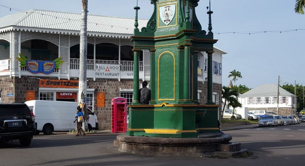 The Berkeley Memorial in Basseterre, St Kitts