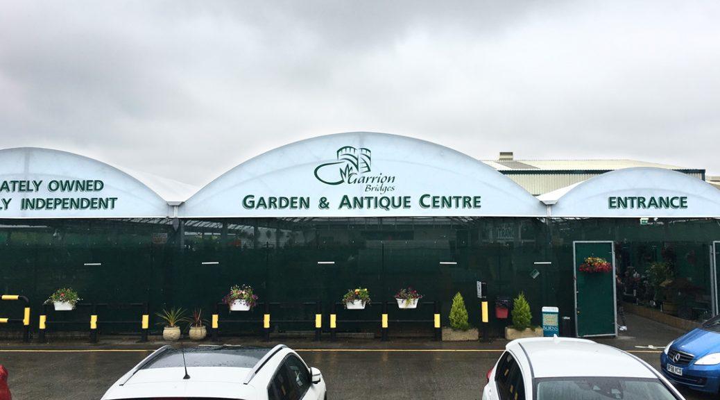 External view of the Garrion Bridges Garden & Antique Centre