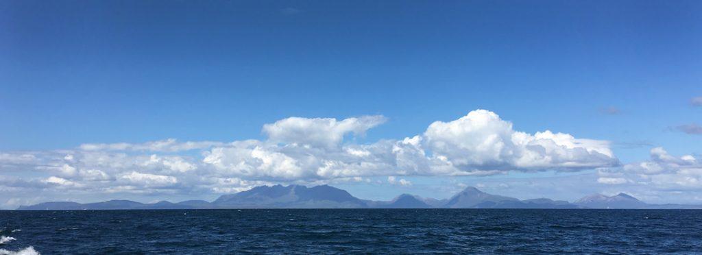 Skye from the Isle of Rum