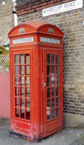 A K2 telephone box in London