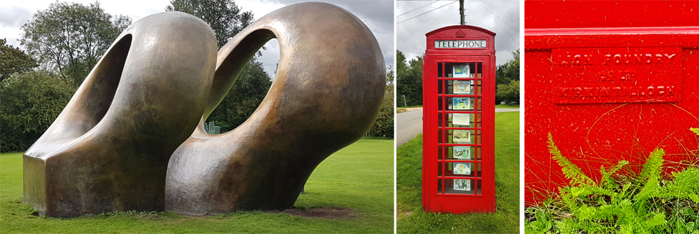 A K6 at the Henry Moore Collection in Much Hadham