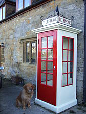K1 telephone box at Tintinhull