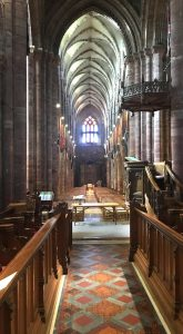 Interior of St Magnus Cathedral, Kirkwall,Orkney