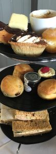 Afternoon tea at the Stirling Highland Hotel