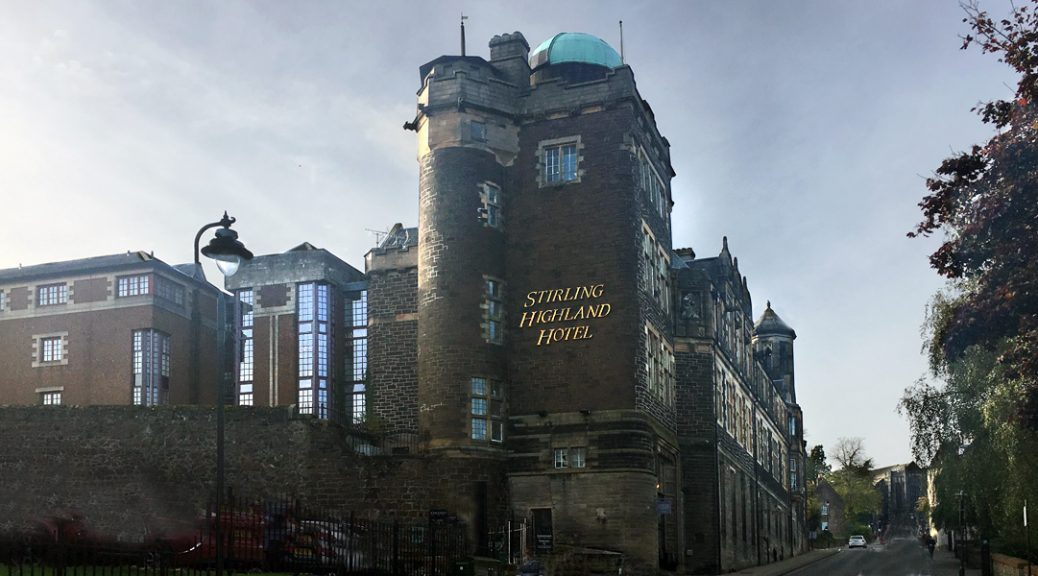 External view of Stirling Highland Hotel