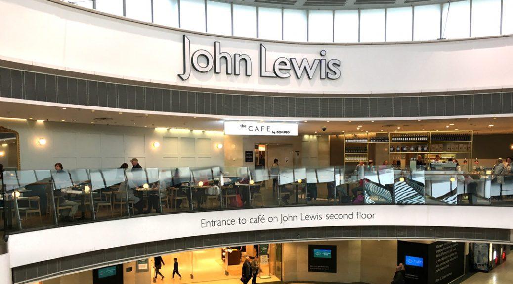 Internal view of John Lewis' Café by Benugo
