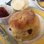 A scone at Julias café, Stromness, Orkney