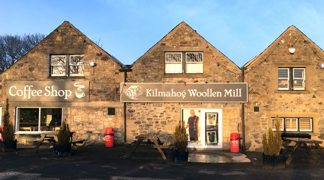 External view of Kilmahog Woollen Mill