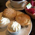 Scones at the Elgin Hotel, Charlestown, Fife