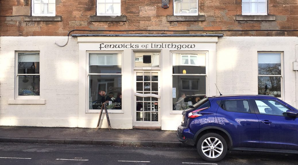 External view of Fenwicks of Linlithgow