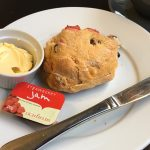 A scone at the Larder, Falkirk